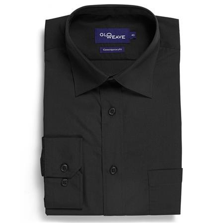 Gloweave EASY CARE POPLIN 1266L colour: BLACK