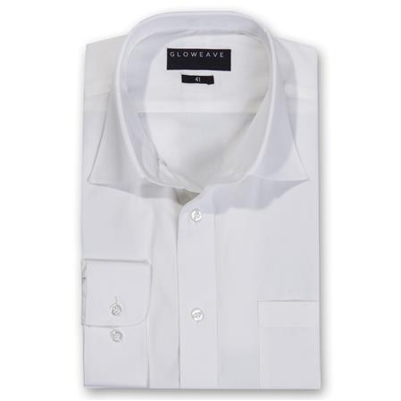 Enlarge  Gloweave Mens THE ESSENTIAL PLAIN POPLIN 1272L IVORY
