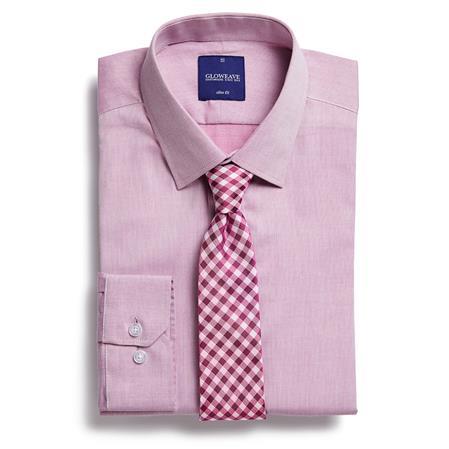 Enlarge  Gloweave Mens CVC L/S Slim Fit Business Shirt (1677L) 1677L Mauve