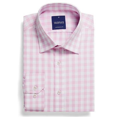 Gloweave ROYAL OXFORD 1CM GINGHAM 1710L colour: PINK