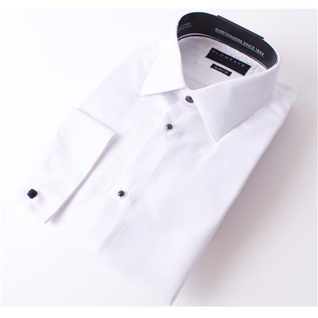 Gloweave THE OCCASIONS STUD SHIRT CLASSIC TWILL 1777L colour: WHITE