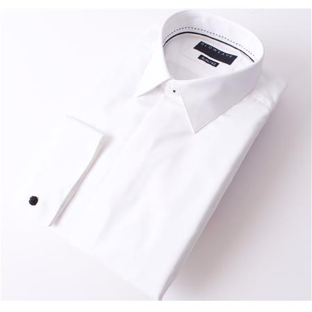 Gloweave THE OCCASIONS FLY FRONT SHIRT DOBBY WEAV 1778L colour: IVORY
