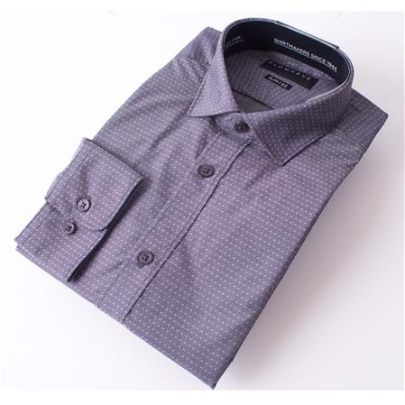 Enlarge  Gloweave Mens THE ESSENTIAL PIN DOBBY 1781L CHARCOAL