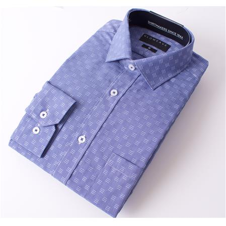 Gloweave THE ESSENTIAL WEEKEND SHIRT 1807L colour: BLUE