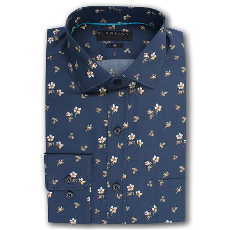 Gloweave THE EMPIRE SHIRT 2012L colour: NAVY