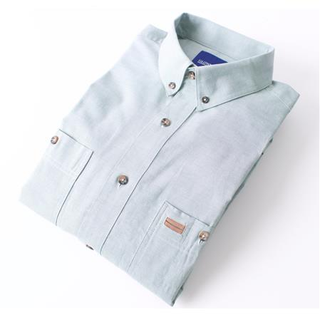 Gloweave Mens Short Sleeve Classic Chambray Shirt (5045SN)  5045SN colour: Green
