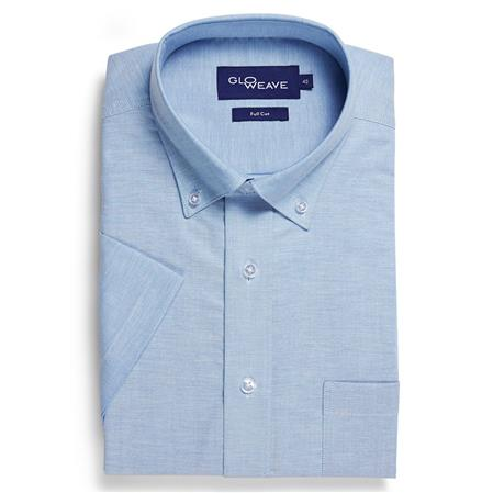Enlarge  Gloweave Mens OXFORD WEAVE 1015S BLUE