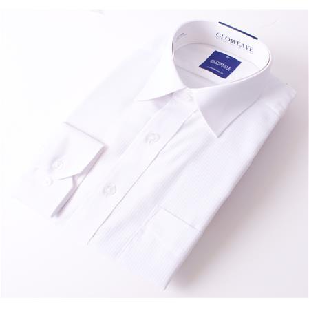 Gloweave THE ESSENTIAL SATIN STRIPE 1022L colour: White