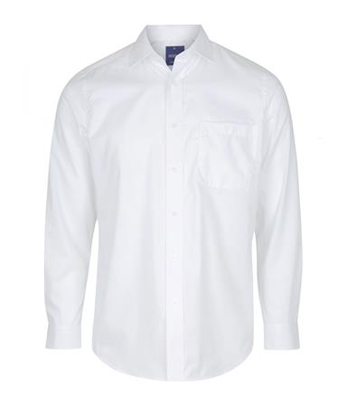 Enlarge  Gloweave Mens 1069L HERRINGBONE STRIPE - WHITE 1069L WHITE