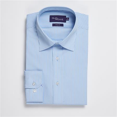 Gloweave 1376L BENGAL STRIPE - BLUE 1376L colour: BLUE