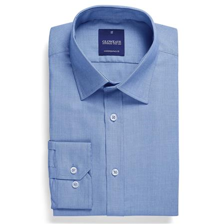 Enlarge  Gloweave Mens MICRO BRICK TEXTURED PLAIN 1708L BLUE
