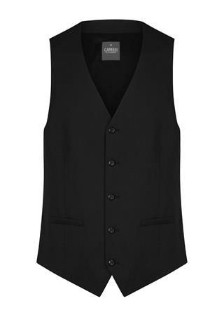 Gloweave 1768MW MENS WASHABLE WAISTCOAT - BLACK 1768MW colour: BLACK