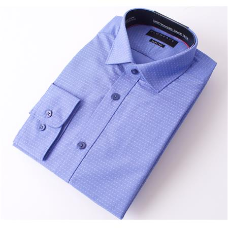 Enlarge  Gloweave Mens THE ESSENTIAL PIN DOBBY 1781L BLUE