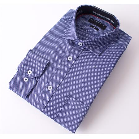 Gloweave THE ESSENTIAL WEEKEND SHIRT 1805L colour: NAVY