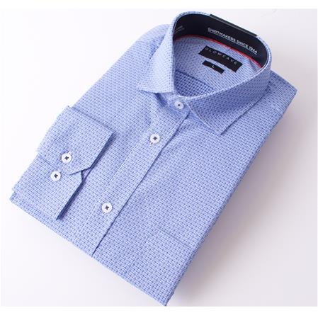 Gloweave THE ESSENTIAL WEEKEND SHIRT 1806L colour: BLUE
