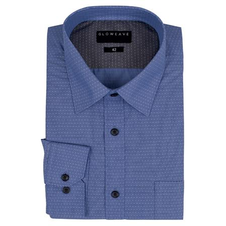 Enlarge  Gloweave Mens 1952L DOT DOBBY - BLUE 1952L BLUE