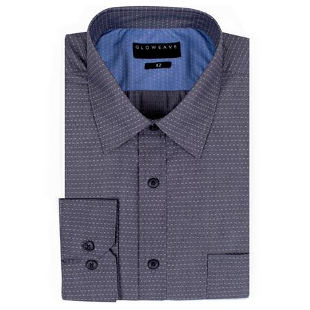 Enlarge  Gloweave Mens 1952L DOT DOBBY - CHARCOAL  1952L CHARCOAL