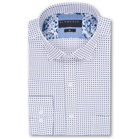 Gloweave THE BROMLEY SHIRT 2002L colour: NAVY