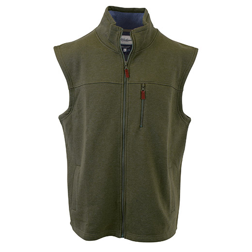 Enlarge  Gloweave Mens Zip Through Vest 5203FL OLV MARLE