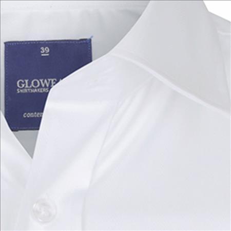 Enlarge  Gloweave Mens 1069L HERRINGBONE STRIPE - WHITE 1069L WHITE