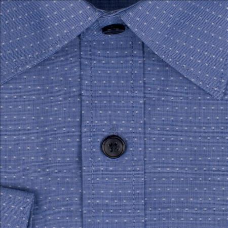 Enlarge  Gloweave Mens 1952L DOT DOBBY - BLUE 1952L BLUE