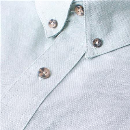 Enlarge  Gloweave Mens Mens Short Sleeve Classic Chambray Shirt (5045SN)  5045SN Green