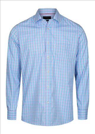 Enlarge  Gloweave Mens 2027L COMBO CHECK - LILAC 2027L LILAC