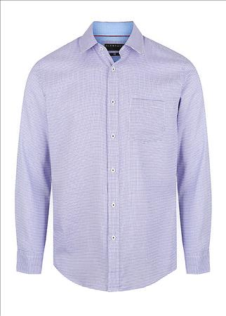 Enlarge  Gloweave Mens TEXTURED MICRO CHECK - LILAC 2043L LILAC
